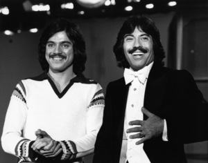"Freddie Prinze and Tony Orlando on ""Tony Orlando and Dawn""1976Photo by Gabi Rona - Image 2789_0007"