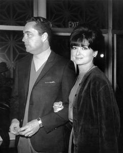 Suzanne Pleshette and Tom Gallagher1966Photo by Joe Shere - Image 2822_0012