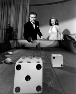 """Dick Powell and Ellen Drew from """"Johnny O"""