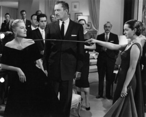 """Vincent Price with Joan Fontaine and Sarita Montiel (aka Sara Montiel) in """"Serenade""""1956Photo by Jack Woods - Image 2837_0110"""
