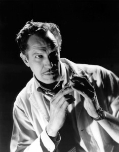 """Vincent Price in """"The Tingler""""1959 Columbia / **I.V.Photo By Cronenweth - Image 2837_0139"""