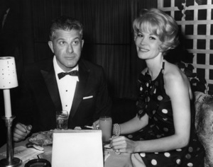 Dorothy Provine and Joel Kane at a TV dinner for Ed Wynn1965Photo by Joe Shere - Image 2840_0012