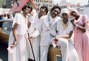 "The Pointer Sisters (Anita, Bonnie, June, Ruth), Richard Pryor in ""Car Wash""1976 Universal** B.D.M. - Image 2843_0070"