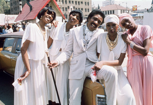 "The Pointer Sisters (Anita, Bonnie, June, Ruth), Richard Pryor in ""Car Wash""1976 Universal** B.D.M. - Image 2843_0070"