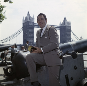 Anthony Quinn at the Tower of London bridgecirca 1950s © 1978 Paul Hesse - Image 2844_0229