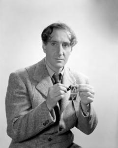 "Basil Rathbone as Sherlock Holmes in ""Sherlock Holmes in Washington""1943 Universal** I.V / M.T. - Image 2853_0672"