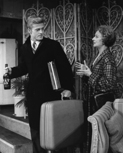 """""""Barefoot in the Park"""" (Stage production)Robert Redford, Mildred Natwickcirca 1964** I.V. - Image 2857_0078"""