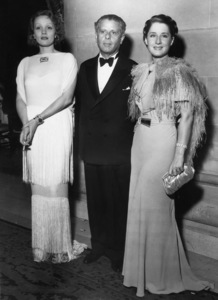 Marlene Dietrich, Max Reinhardt and Norma Shearer 1934** I.V. - Image 2863_0002