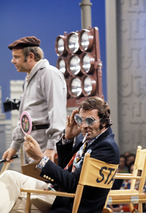 """Burt Reynolds and Tim Conway on the set of """"The Flip Wilson Show""""1972 © 1978 David Sutton - Image 2868_0124"""