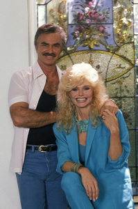 Burt Reynolds with wife Loni Anderson1988 © 1988 Mario Casilli - Image 2868_0179