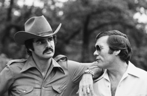 """Smokey and the Bandit""Burt Reynolds, director Hal Needham1977** B.D.M. - Image 2868_0305"