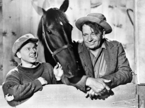 """Mickey Rooney and Wallace Beery in """"Stablemates""""1938 MGM - Image 2889_0170"""