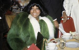 Diana Ross at the Image Awards1972 © 1978 Kim Maydole Lynch - Image 2891_0129