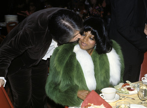 Robert Ellis Silberstein and Diana Ross at the Image Awards1972 © 1978 Kim Maydole Lynch - Image 2891_0130