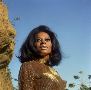 Diana Ross 1969 © 1978 Wallace Seawell - Image 2891_0137