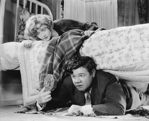 """Babe Ruth with Anna Q. Nilsson in """"Babe Comes Home""""1927 First National Pictures, Inc. - Image 2900_0003"""