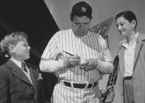 Babe Ruth circa 1948 - Image 2900_0004