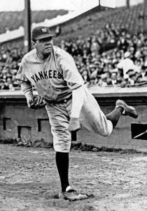 Babe Ruth circa 1930 ** I.V. - Image 2900_0007