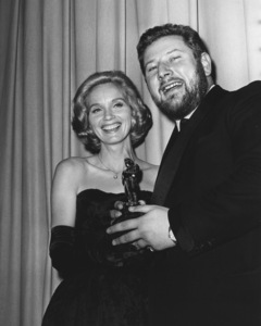 """Eva Marie Saint and Peter Ustinov at """"The 33rd Annual Academy Awards""""1961Photo by Joe Shere - Image 2905_0020"""