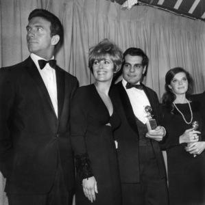 Anthony (Tony) Franciosa, Jill St. John, Omar Sharif, Samantha Eggar1966Photo by Joe Shere - Image 2908_0124