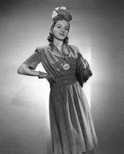 Martha ScottNovember 11, 1941Photo by Scotty WelbourneMPTV - Image 2925_0002