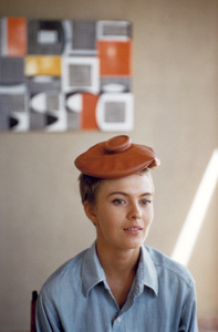 "Jean Seberg during the filming of ""Bonjour Tristesse""1957© 1978 Bob Willoughby - Image 2927_0007"