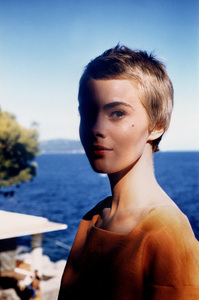 "Jean Seberg On location for""Bonjour Tristesse""  1957 © 1978 Bob Willoughby - Image 2927_0040"