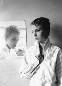 "Jean Sebergduring the filming of ""Breathless.""1959 / **I.V. - Image 2927_0056"