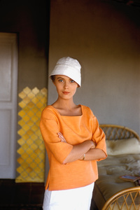 "Jean Seberg On location for""Bonjour Tristesse""  1957 © 1978 Bob Willoughby - Image 2927_0067"