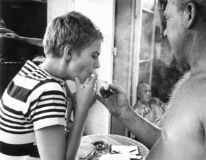 """Jean Seberg on location for the filming of """"Bonjour Tristesse"""" 1957 © 1978 Bob Willoughby - Image 2927_0077"""