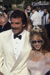 Tom Selleck and his wife, Jillie Mackcirca 1987© 1987 Gunther - Image 2929_0017