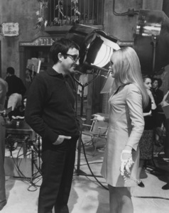 """Peter Sellers with Britt EklandOn the set of """"The Bobo""""Warner Brothers 1967 - Image 2930_0028"""