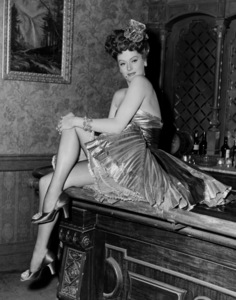 """Alexis Smith in """"South of St. Louis""""1949Photo by Pat Clark - Image 2957_0023"""