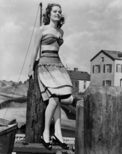 """Alexis Smith in """"The Horn Blows at Midnight""""1945Photo by Bert Six - Image 2957_0027"""