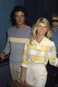 Sylvester Stallone and Sasha Ashcirca 1978© 1978 Gary Lewis - Image 2976_0119