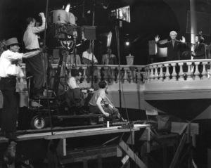 "Leopold Stokowski & Deanna Durbin""One Hundred Men And A Girl""1937 UniversalPhoto By Roman Freulich / **I.V. - Image 2988_0027"
