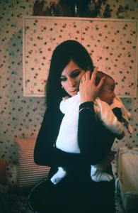 Barbra StreisandWith son Jasonc.1968 © 1978 Bob Willoughby - Image 2995_0206tif
