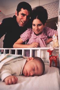 Barbra StreisandAt Home in New York with Elliot Gouldand son JasonCirca 1968 © 1978 Bob Willoughby - Image 2995_0207