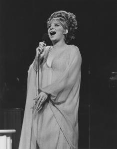 "Barbra StreisandPerforming on the ""Ed Sullivan Show""1969Photo by Gabi Rona - Image 2995_0238"