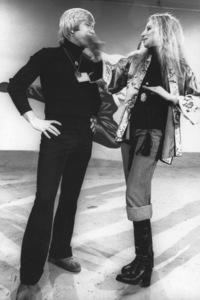 Barbra Streisand, Chuck Norris1975Photo by Ulvis Alberts - Image 2995_0248