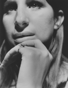 Barbra Streisand During a recording session May 1971 © 1978 Ed Thrasher - Image 2995_0265