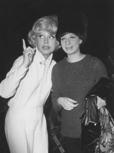 Carol Channing, Barbra StreisandJanuary 19,1965 - Image 2995_0310