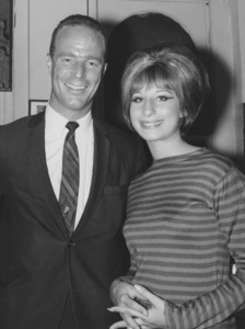 Astronaut Scott Carpenter with Barbra Streisand September 11,1964 - Image 2995_0311