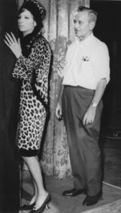 Barbra Streisand With director William Wylerc.1968 - Image 2995_0318