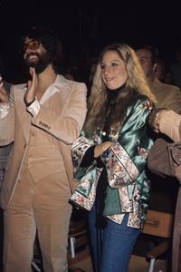 Barbra Streisand and Jon Peterscirca 1970s © 1978 Gary Lewis - Image 2995_0372