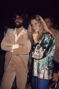 Barbra Streisand and Jon Peterscirca 1970s © 1978 Gary Lewis - Image 2995_0373