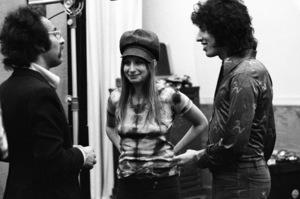Producer Richard Perry and Barbra Streisand 1971 © 1978 Ed Thrasher - Image 2995_0387