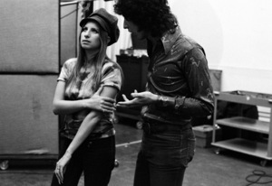 Barbra Streisand and Richard Perry 1971 © 1978 Ed Thrasher - Image 2995_0390