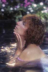 "Barbra Streisand during a photo session for her album ""Wet""1979© 1979 Mario Casilli - Image 2995_0401"