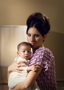 Barbra Streisand at home in New York with son Jason1967 © 1978 Bob Willoughby - Image 2995_0407